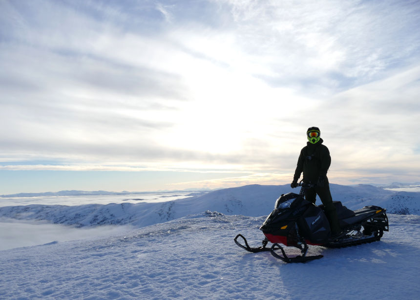 Snowmobile Adventure in Sweden